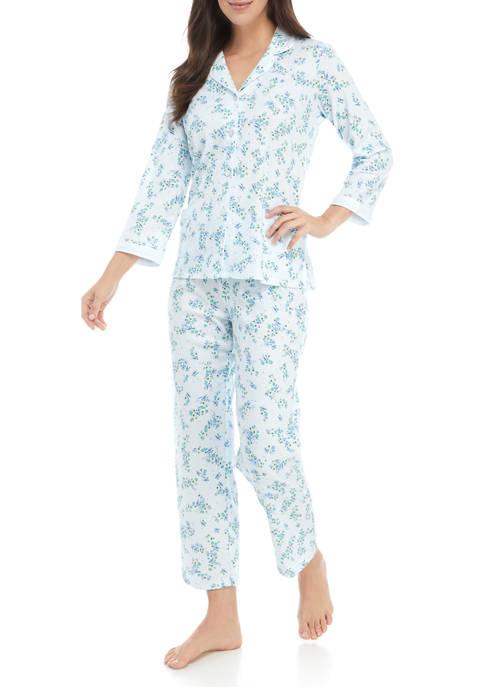2 Piece Floral Cottonessa Pajama Set