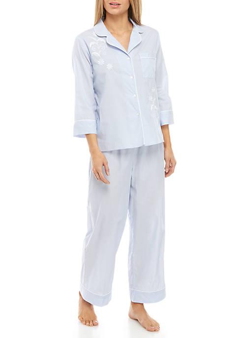 2 Piece Cotton Lawn Pajama Set