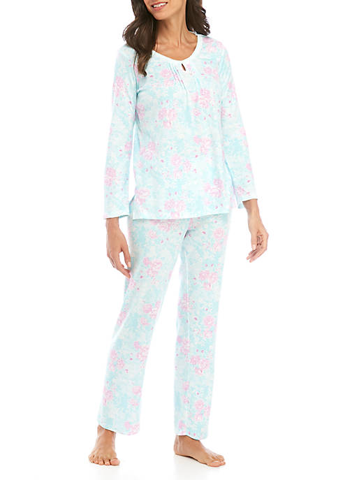 Womens 2 Piece Cottonessa Pajama Set