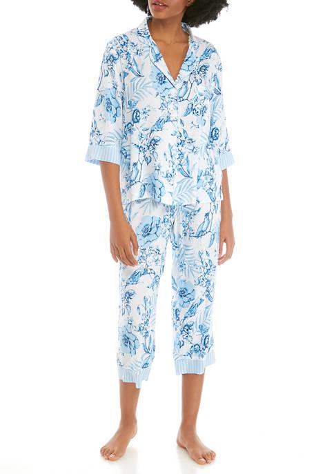 2 Piece Woven Rayon Pajama Set