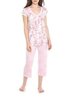 2-Piece Liquid Knit Pajama Set