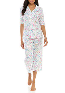Miss Elaine 2-Piece Cottonessa Pajama Set