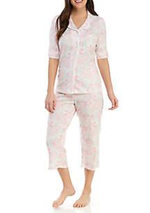 Miss Elaine 2-Piece Cottonessa Pajama Set