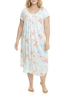 Plus Size Long Night Gown