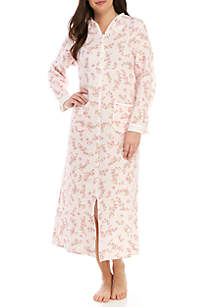 Miss Elaine Plus Size Long Tricot Nylon Gown · Miss Elaine Quilted Knit Long  Zip Robe 78e888612