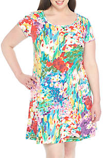 Plus Size Interlock Dress