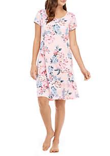 Interlock Short Gown