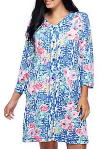 Plus Size Interlock Nightgown