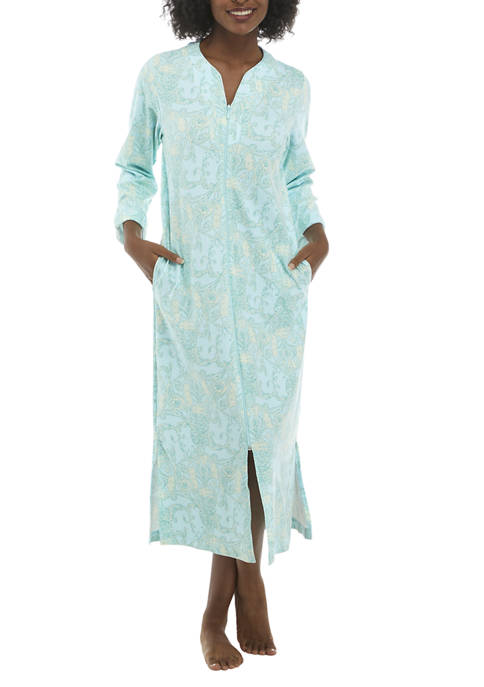 Interlock Snap Short Sleep Gown