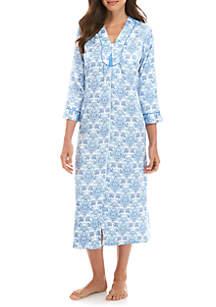 Long Zip Gown
