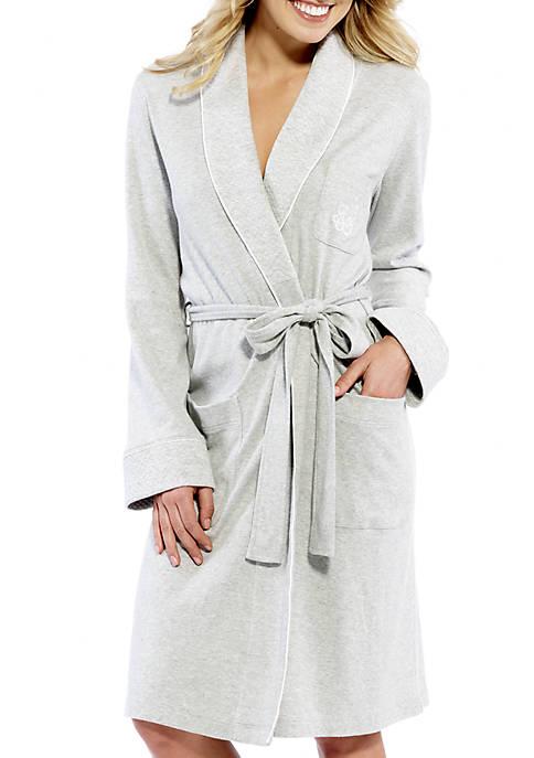 Cotton Shawl Wrap Robe