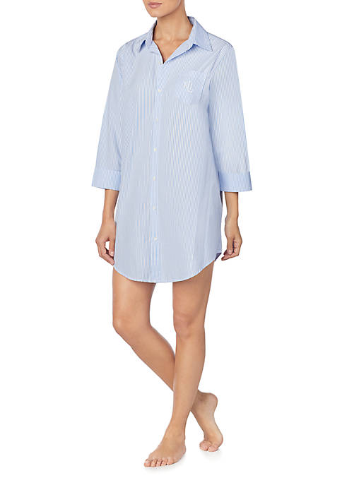 Lauren Ralph Lauren Woven Cotton His Shirt Sleep