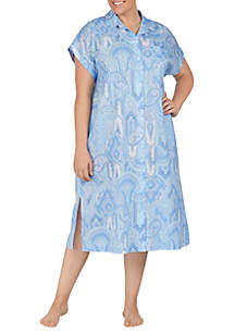 Lauren Ralph Lauren Plus Size Ballet Sleep Shirt