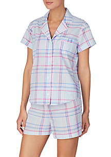0760747963ad ... Lauren Ralph Lauren Cotton Boxer Pajama Set