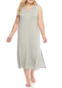 Sleeveless Modal Maxi Sleep Gown