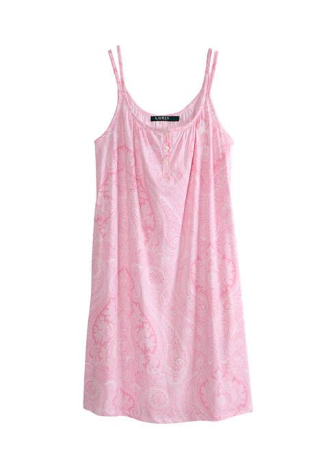 Lauren Ralph Lauren Double Strap Short Sleep Gown