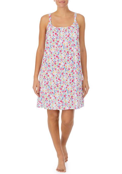 Lauren Ralph Lauren Double Strap Short Gown