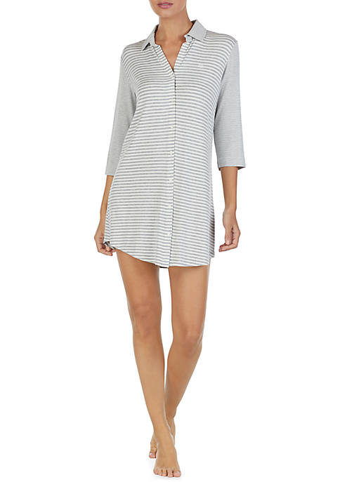 Lauren Ralph Lauren 3/4 Sleeve Modal Sleepshirt