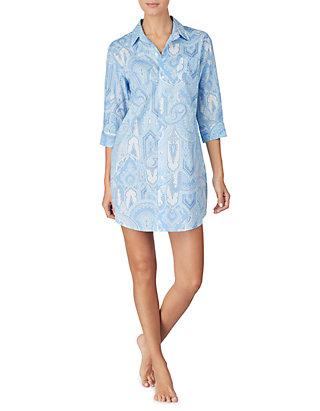 bd9dea8ce60 Lauren Ralph Lauren Paisley Woven Sleep Shirt