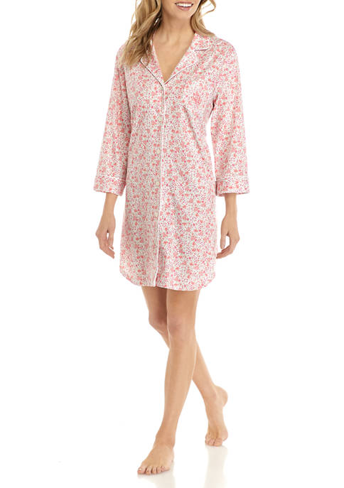 Lauren Ralph Lauren Classic Knit Sleep Shirt