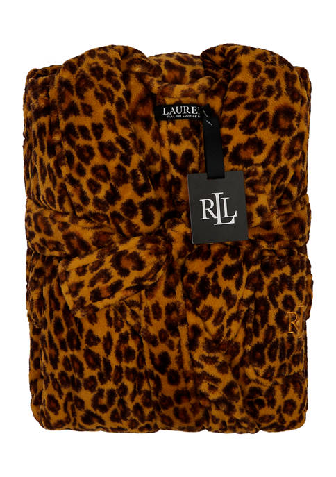 Lauren Ralph Lauren Folded So Soft Short Robe