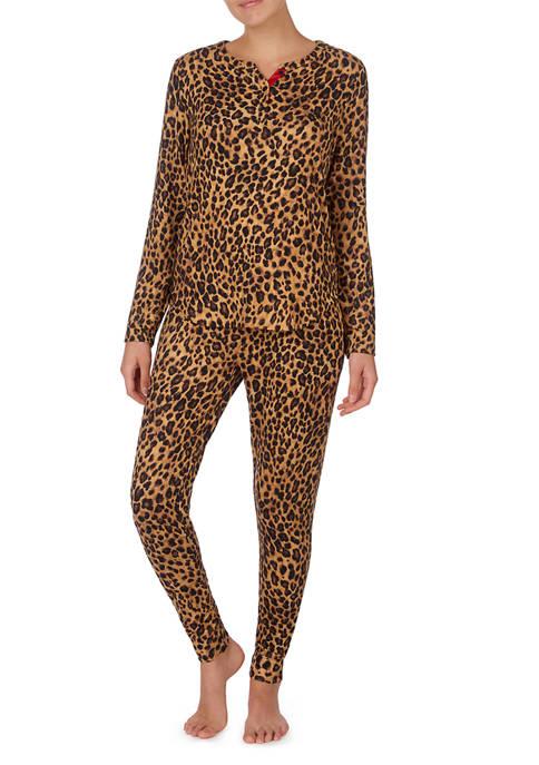 2 Piece Jersey Pajama Set
