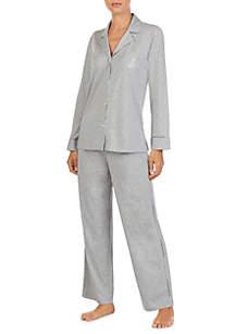 2-Piece Knit Pajama Set