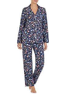 2-Piece Classic Knit Pajama Set