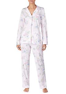 Lauren Ralph Lauren Floral 2-Piece Pajama Set