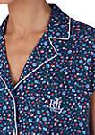 Cotton Dolman Sleeve Capri Pajamas