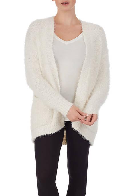Ellen Tracy Long Sleeve Short Cardigan