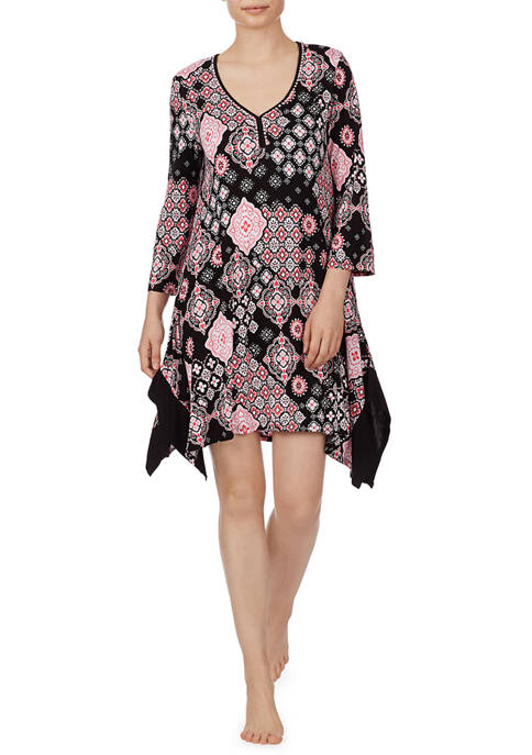 Ellen Tracy Short Tunic Night Gown