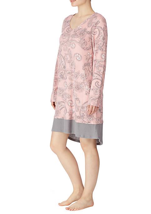 Ellen Tracy Womens Sleepshirt