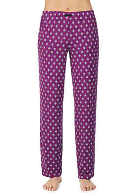 ellen tracy brushed pajama pants - Juniors Christmas Pajamas