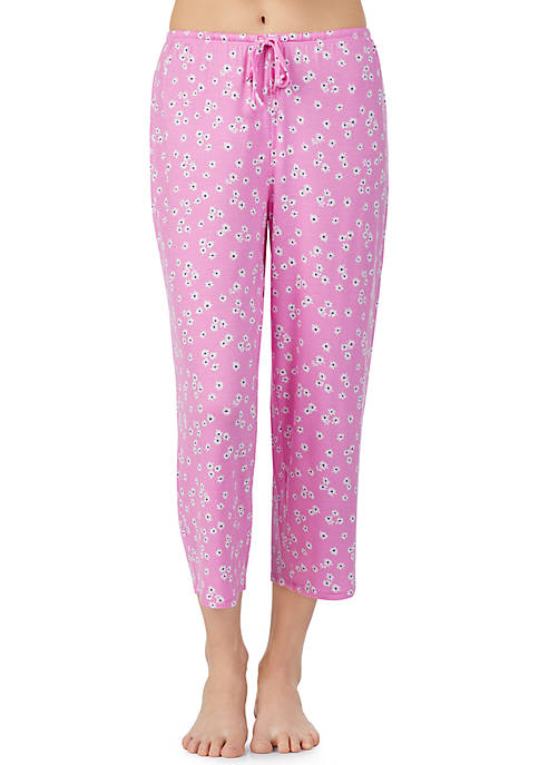Ellen Tracy Cropped Pajama Pants