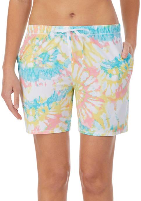 Ellen Tracy Moisture Wicking Lounge Shorts