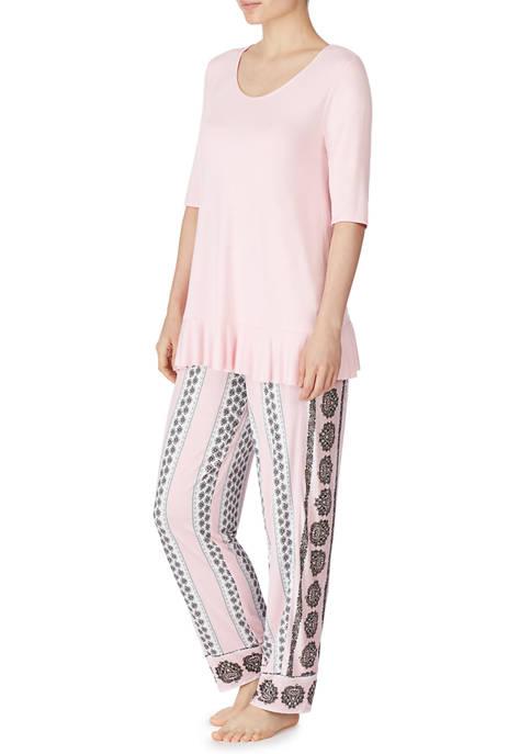 Ellen Tracy 2 Piece Pajama Set