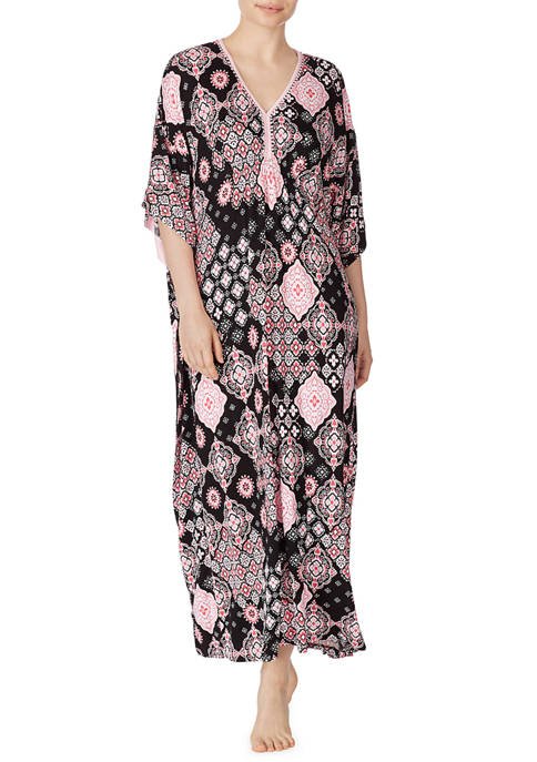 Ellen Tracy Elbow Sleeve Night Gown