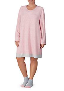 Plus Size Sleep Shirt Dress