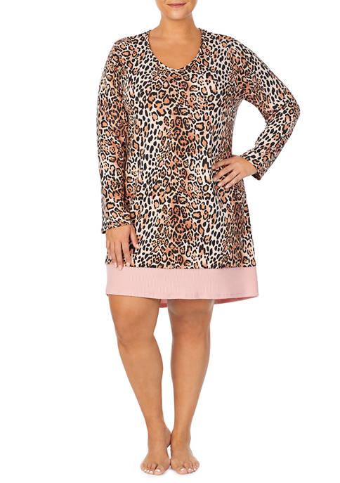 Ellen Tracy Plus Size Sleepshirt