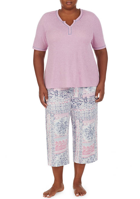 Ellen Tracy Plus Size Short Sleeve Top and