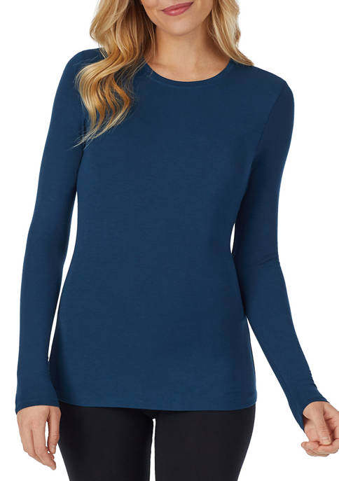 Cuddl Duds® Long Sleeve Crew Neck T-Shirt