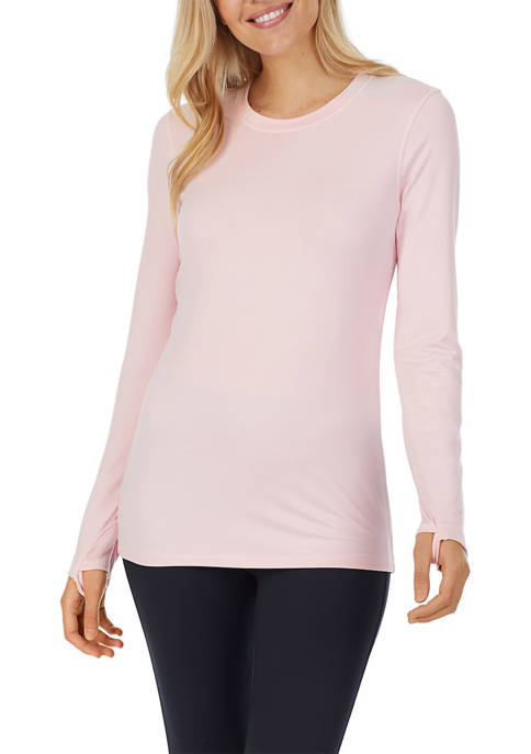 Cuddl Duds® Long Sleeve Crew Neck Top