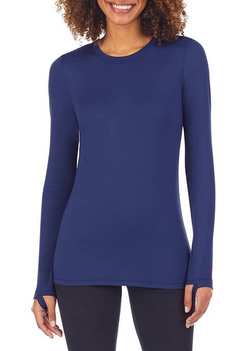 Cuddl Duds® Far Infrared Long Sleeve Crew Top
