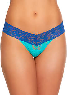 Colorplay Low Rise Thong -  36101