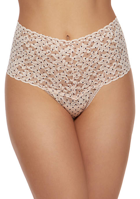 Pixie Dot Retro Thong