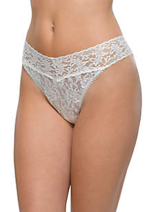Signature Lace Original Rise Thong - 4811