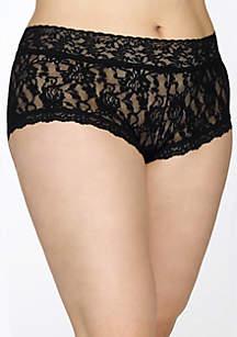 Plus Size Signature Lace Boyshort - 481281X