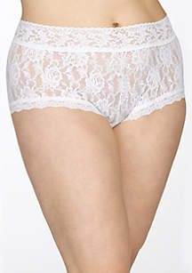Plus Size Signature Lace Boyshort - 481281X