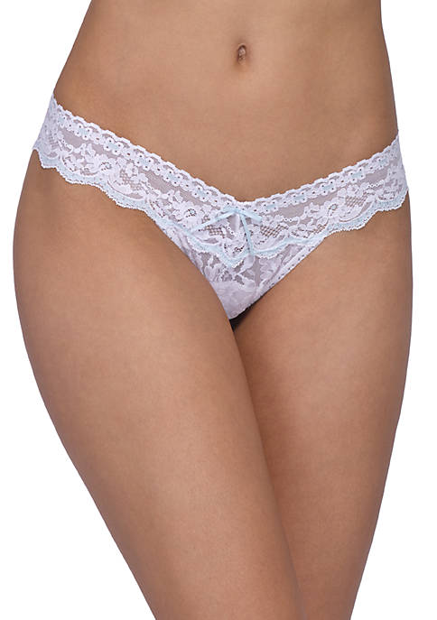 Hanky Panky® Annabelle Bridal Low Rise Thong